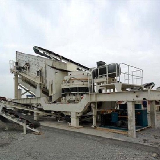 PP-PY Series Wheel-Mounted Mobile Cone Crusher